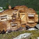 Maison champignon les povottes vallorcine