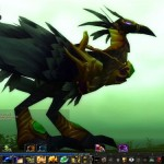 Faucon-pérégrin dans le jeu world of warcraft